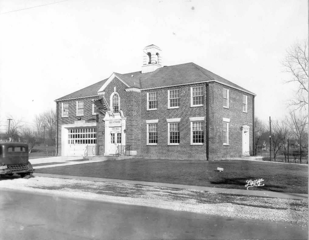 Brentwood City Hall in 1936