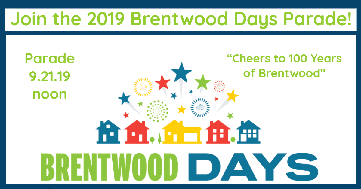 Brentwood Days Parade 2019
