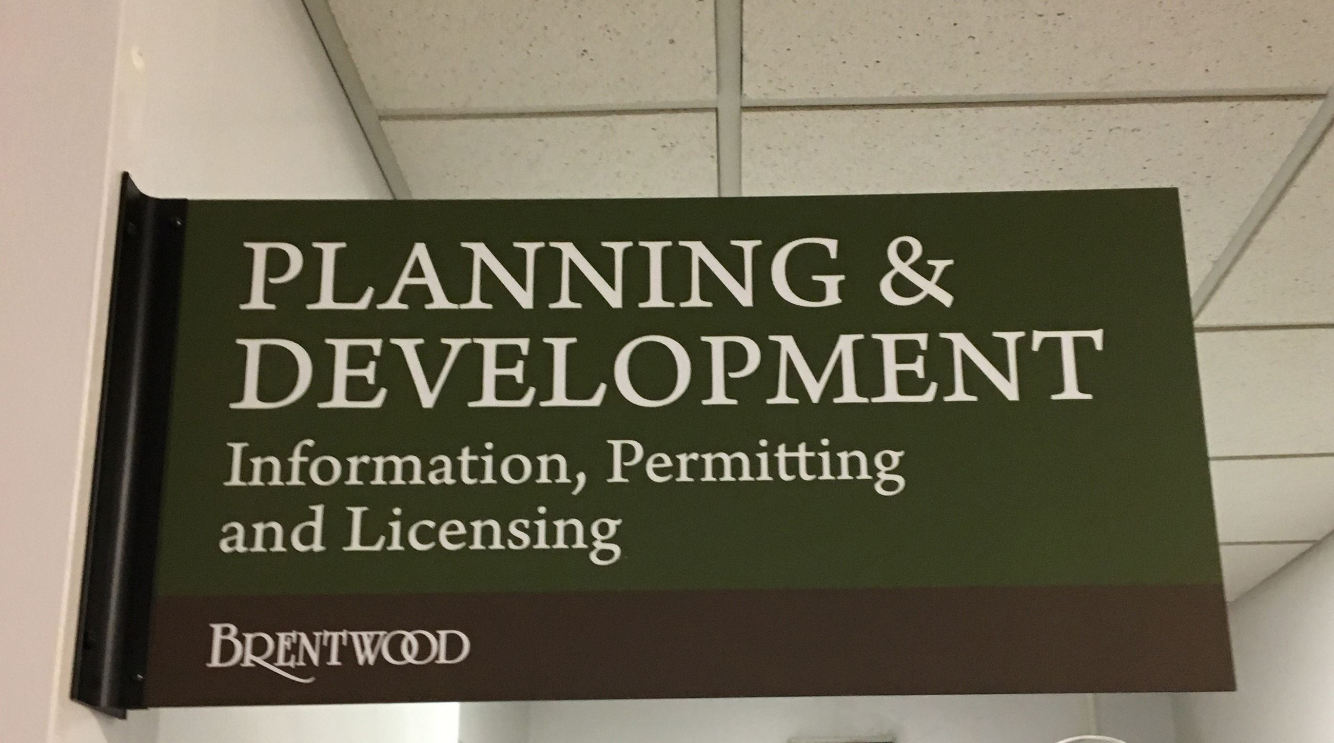 Brentwood Planning and Development Department