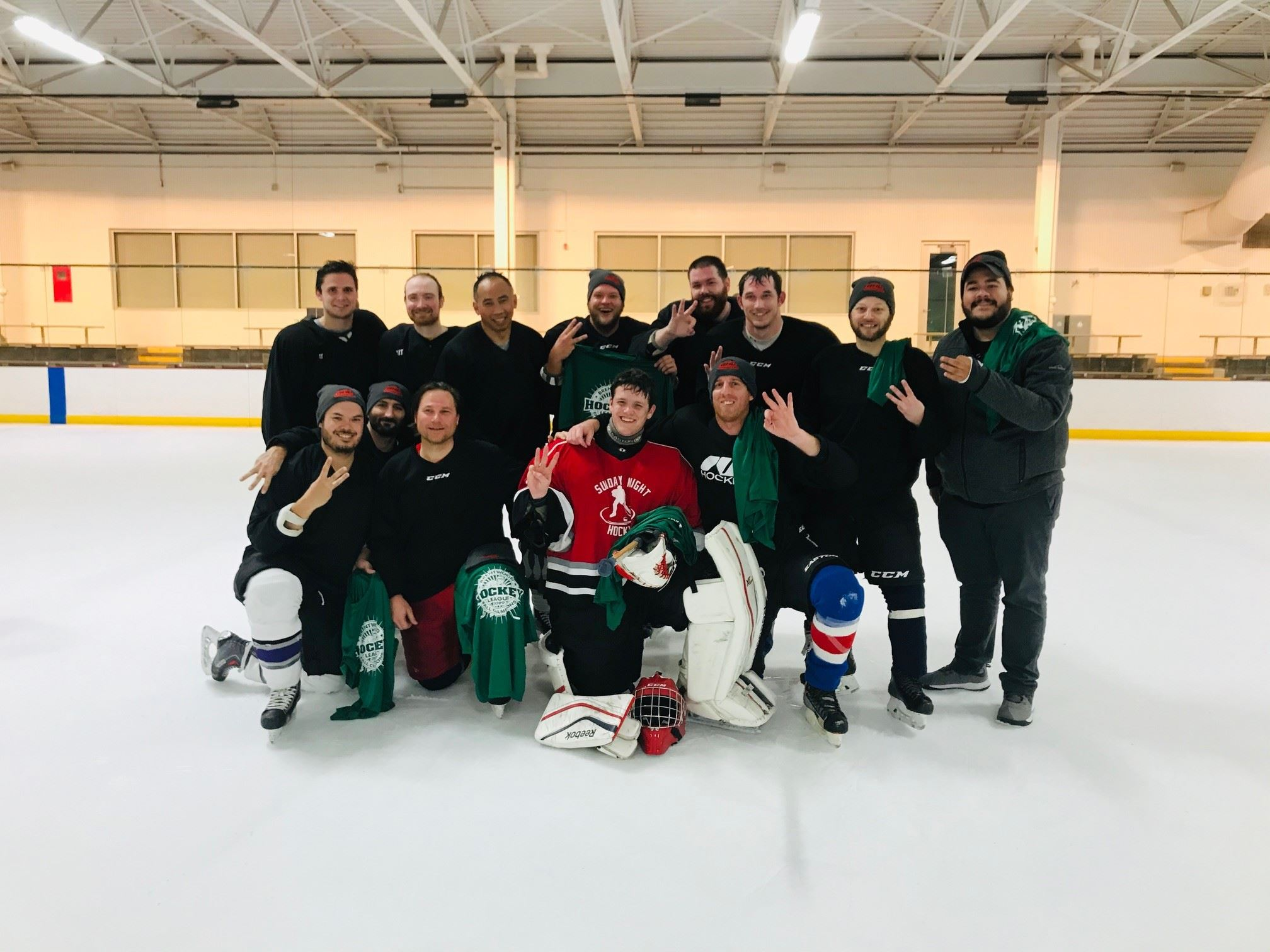 Canadiens Fall 2019 Novice League Champions
