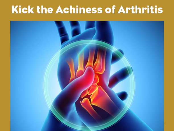 Website Kick the Achiness of Arthritis