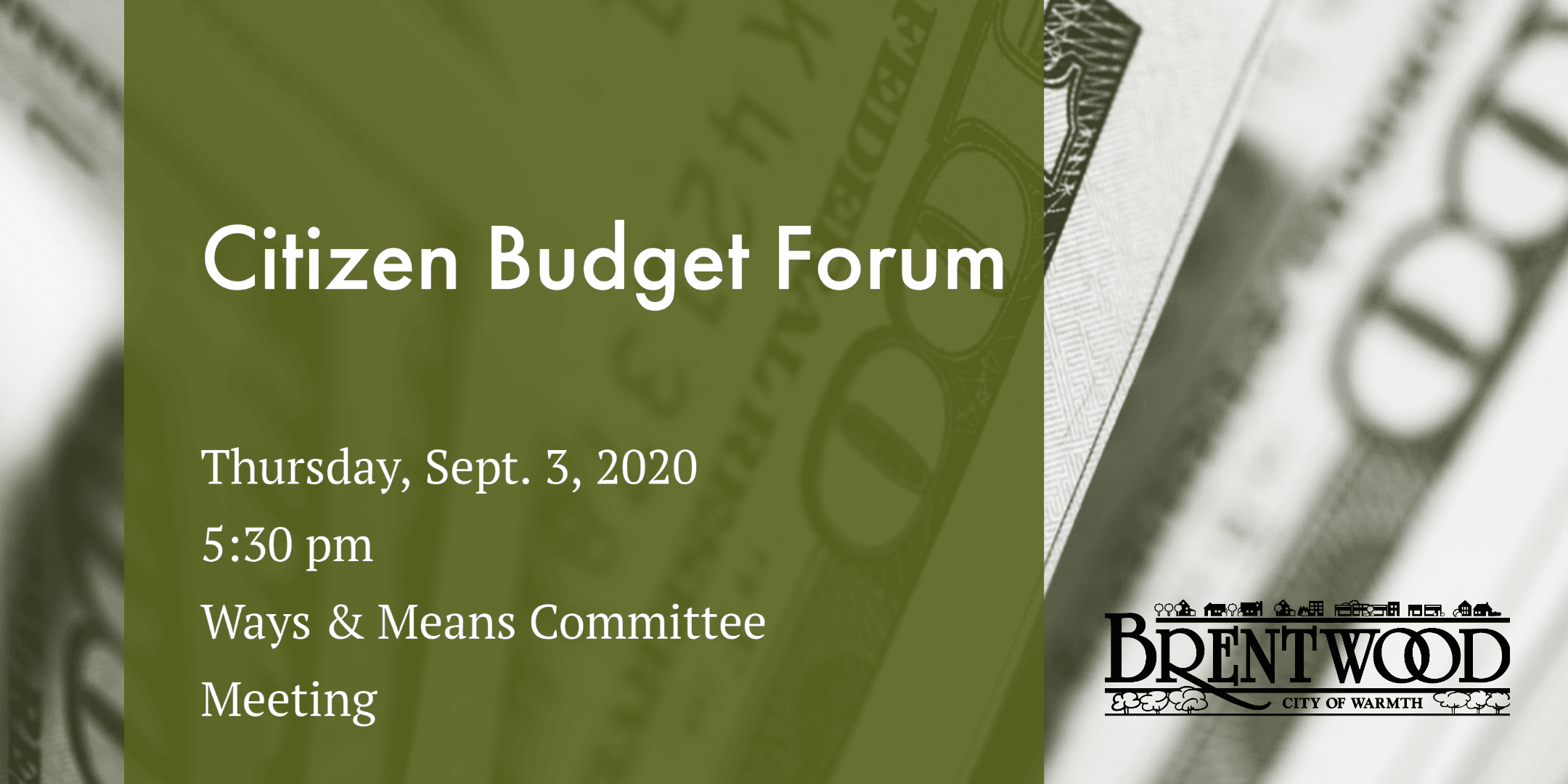 Citizen Budget Forum 2020