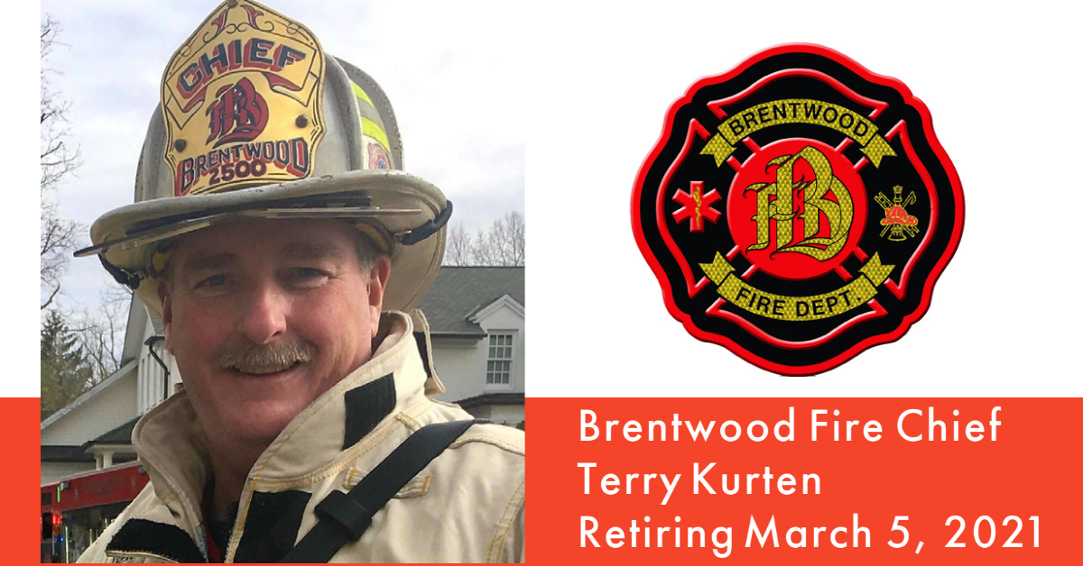 Fire Chief Terry Kurten to Retire
