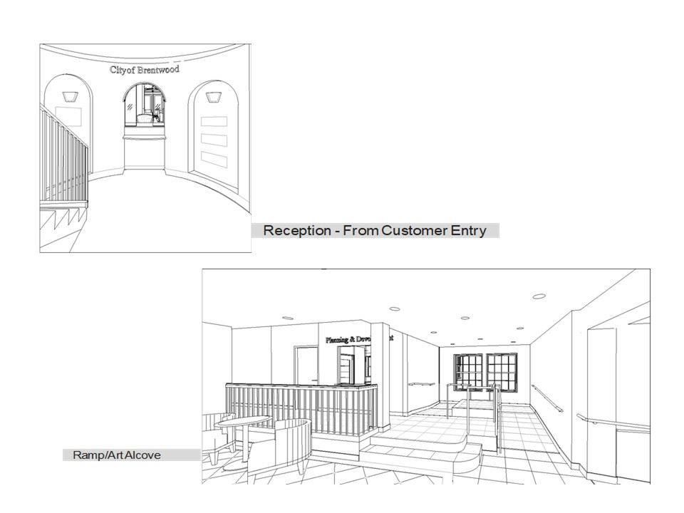 City Hall Renovation Project - Interior Renderings