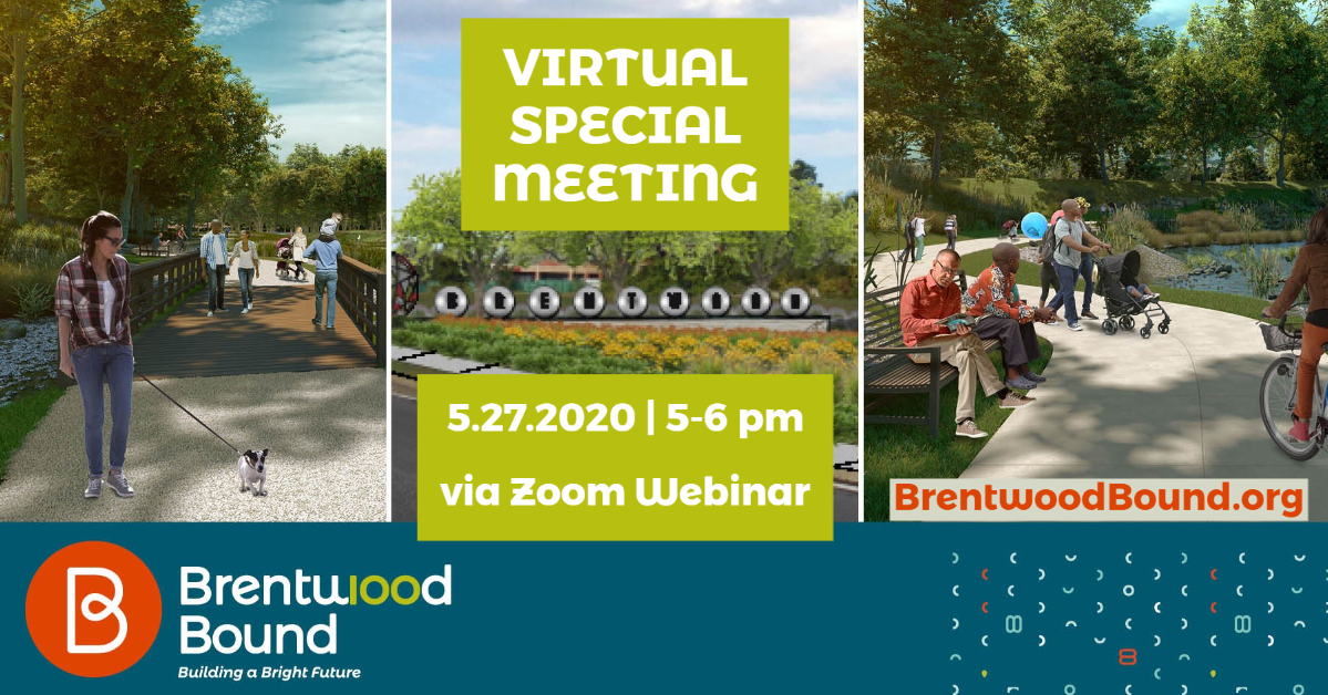 Brentwood Bound Virtual Meeting 5.27.2020