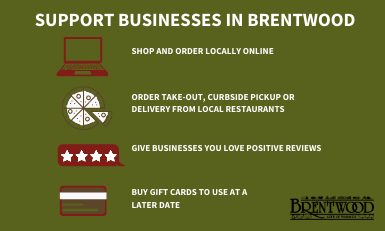 Support Businesses in Brentwood